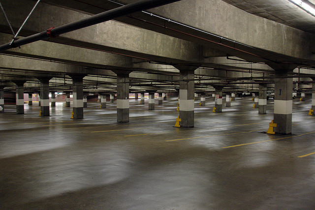 Newark Airport parking garage