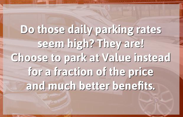 Low Newark Parking Rates Banner