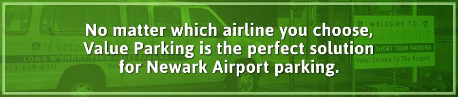 Newark Airport Terminals Parking Banner